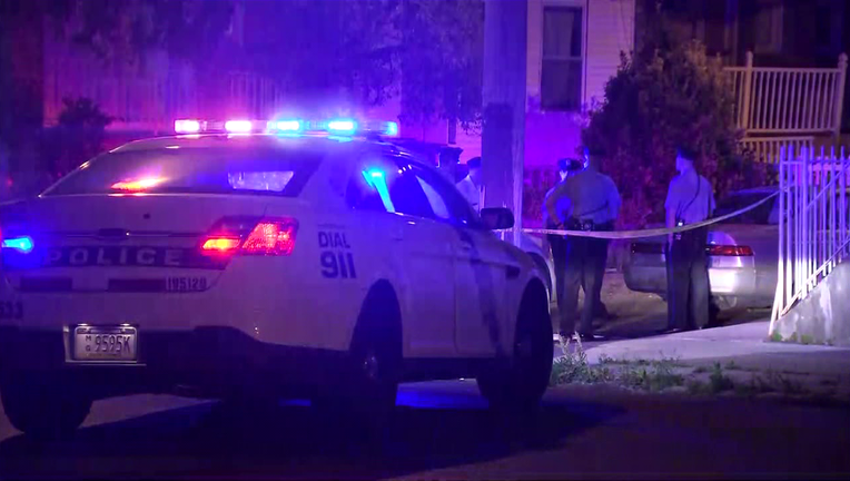 Shooting on North Franklin Street in Olney leaves man in critical condition.