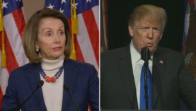 House Speaker Nancy Pelosi, President Donald Trump