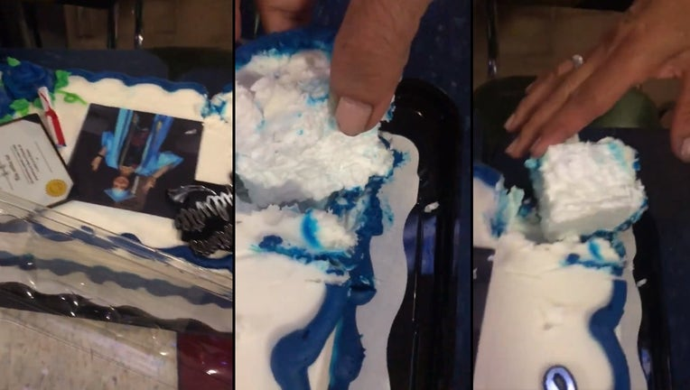 Family S Walmart Graduation Cake Turns Out To Be Made Of