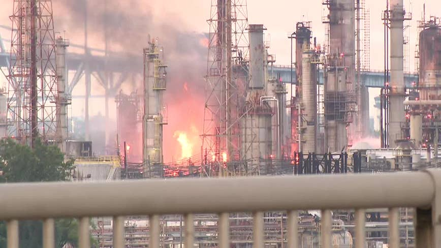 Nearly 300 union workers laid off following refinery fire in South Philly
