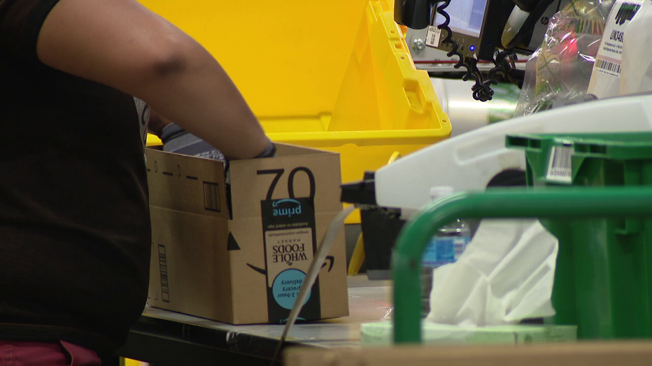 Amazon fulfillment center in South Jersey makes its presence felt.