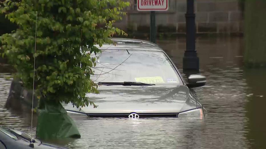 Burlington County flooding