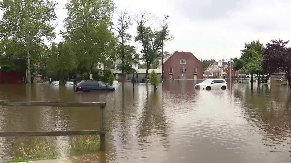 Mount Holly, N.J. flooding