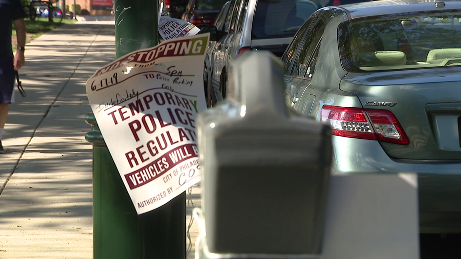 Police creating greater parking issues in Fairmount.