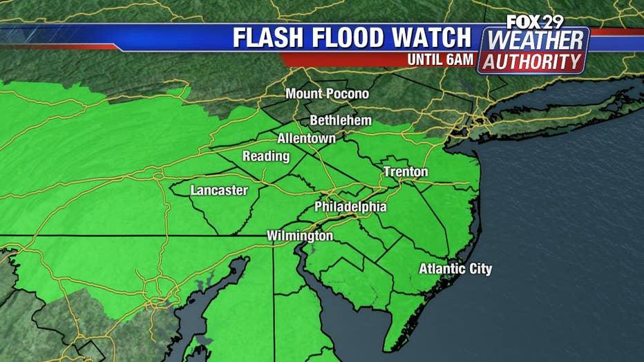 Flash Flood Watch June 17