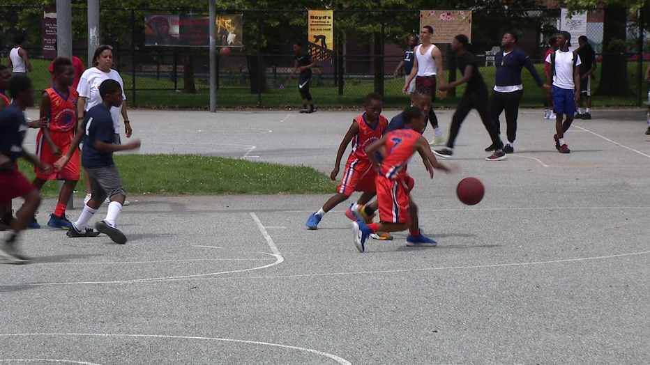 Basketball tournament in Frankford brings community together.