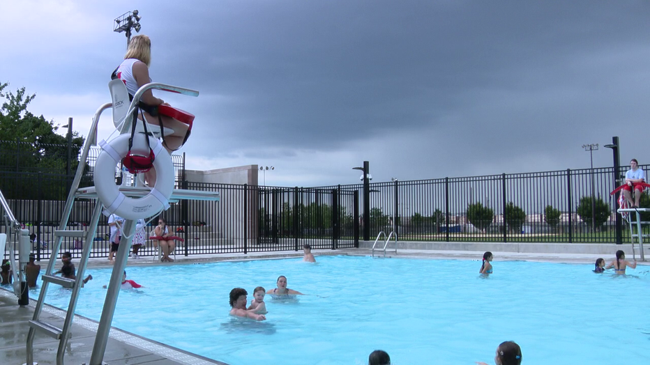 Bridesburg pool open for summer.