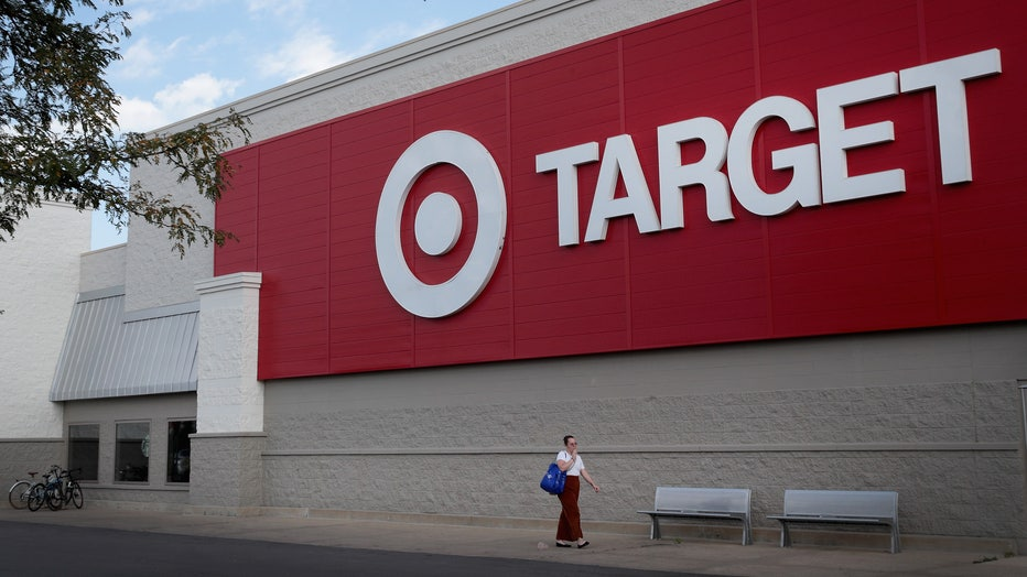 Customers shop at a Target store on August 22, 2018 in Chicago, Illinois. (Photo by Scott Olson/Getty Images)
