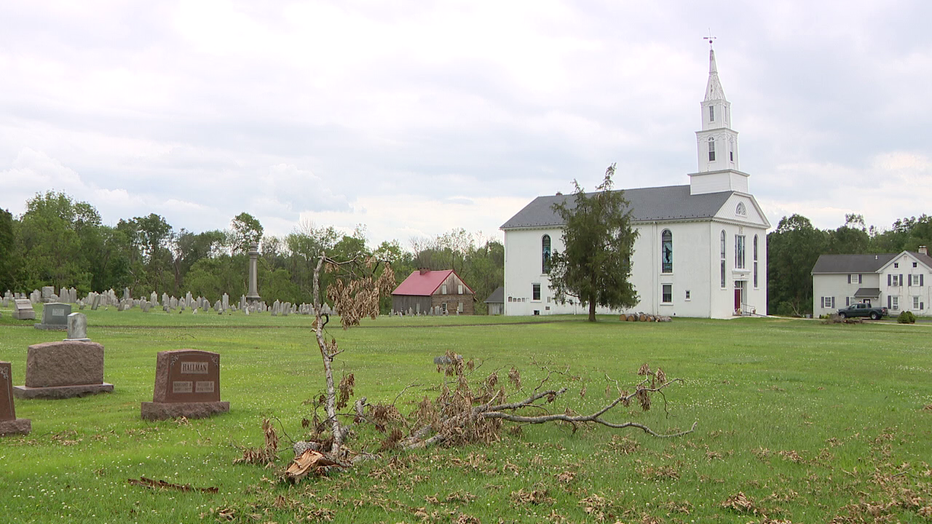 Upper Salford Township, Pa. church needs help after May severe storm.