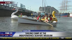 Camp Kelly: Sailing Camp at the Independence Seaport Museum