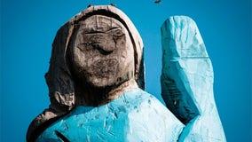Statue of Melania Trump receives mixed reviews