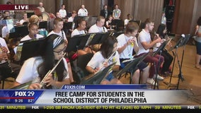 Camp Kelly: Orchestra Camp at the Mann Center