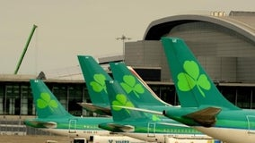 Philadelphia bound Aer Lingus flight forced to make emergency landing in Dublin after striking a bird