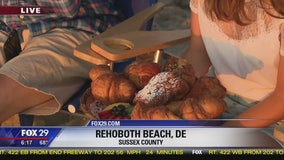 Town Takeover: Bob grabs some baked goods in Rehoboth Beach