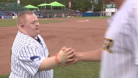 Bat boy, who has Down syndrome, is heart of Trenton Thunder team