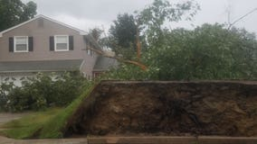 Severe storms bring damaging winds, knocks out power for thousands