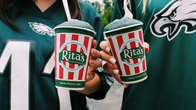 Rita's honors Philadelphia Eagles with 'Go Birds!' flavor