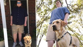 'Humiliated, scared and targeted': Blind man and service dog turned away from church