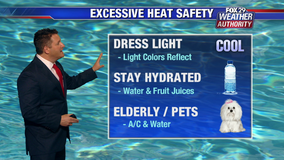 Weather Authority: Excessive heat warning in effect as temperatures soar