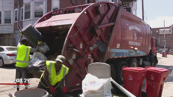 How trash collectors are handling the heat