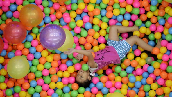 Ball pits are swimming with germs and bacteria, study says