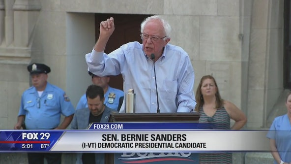 Sanders says Hahnemann University Hospital plight example of greed