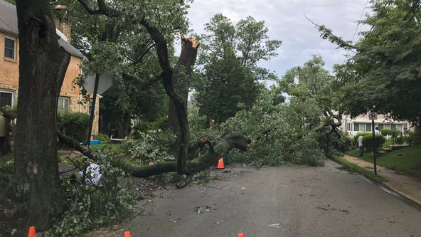 Severe storms leave mass transit issues, thousands without power