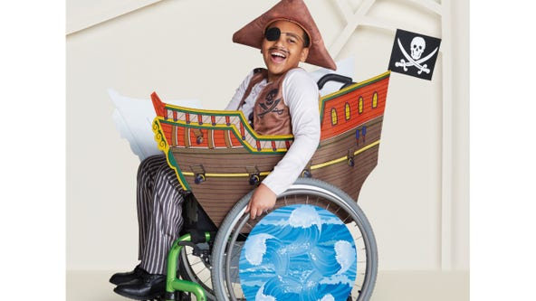 Target debuts adaptive Halloween costumes for children who use wheelchairs