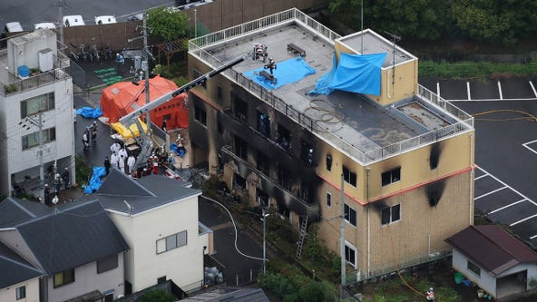 Man shouting 'You die' kills more than 30 at Japan anime studio