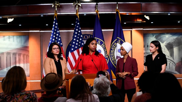 'Agenda of white nationalists': Democratic congresswomen attacked by Trump call for impeachment