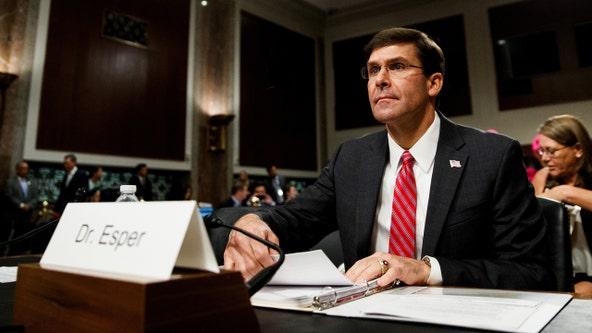 Senate confirms Army veteran Mark Esper secretary of defense