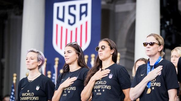 Secret brand deodorant donates $529,000 to US women's soccer team