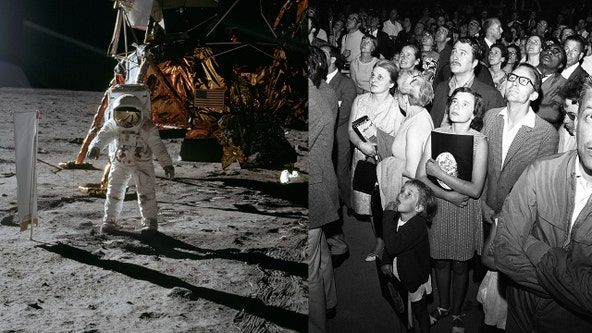 'You could hear a pin drop': 650 million people around the world watched man's first steps on the moon