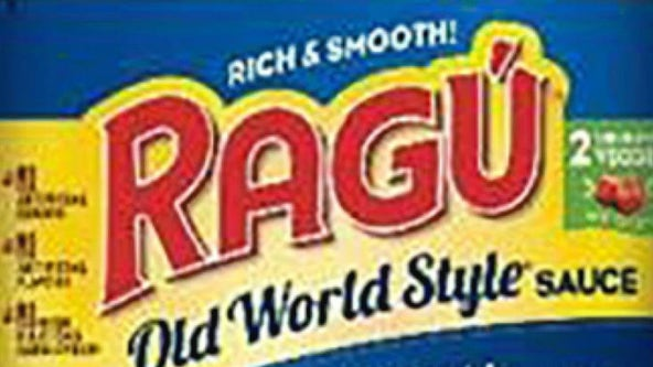 Ragu issues recall over possible plastic in products