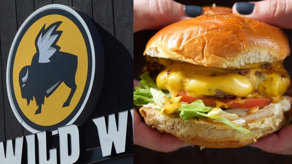 Buffalo Wild Wings worker fired after woman says she received mustard swastika on burger bun