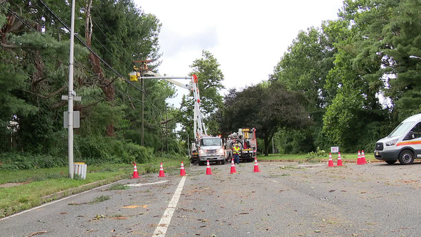 Willingboro residents tough out another night after storm knocks out power