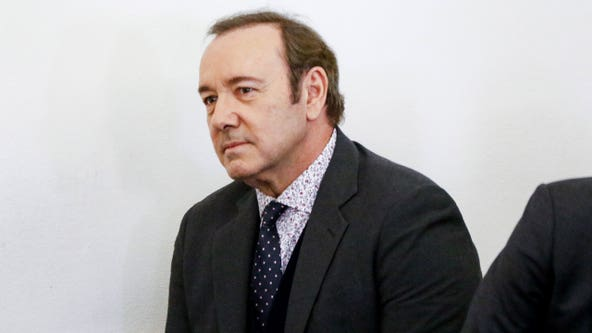 Prosecutors drop groping charges against Kevin Spacey