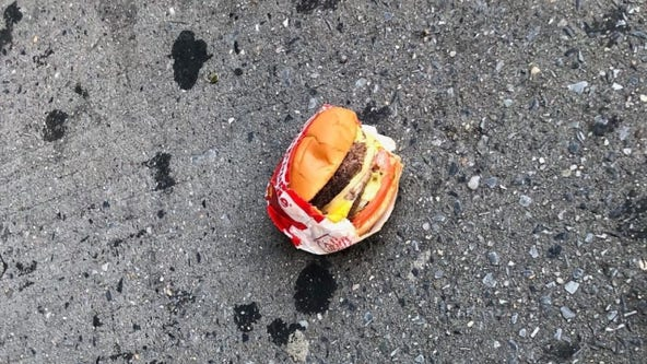 'Shook me to my core': Man finds untouched In-N-Out burger in wrapper on New York street