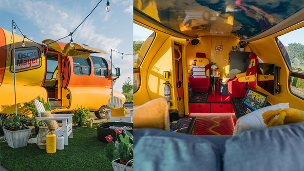 Relish the opportunity to book a stay in the Oscar Mayer Wienermobile on Airbnb