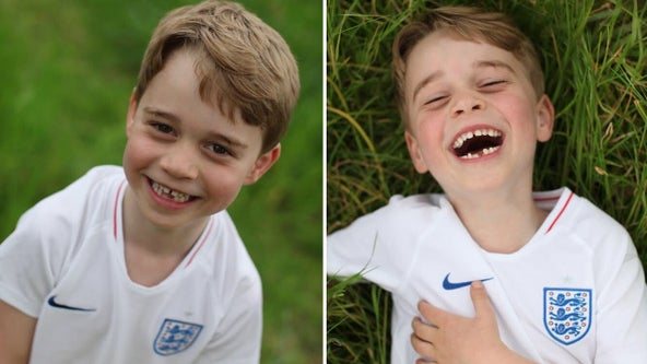 With a wide smile for his mom, Prince George turns 6