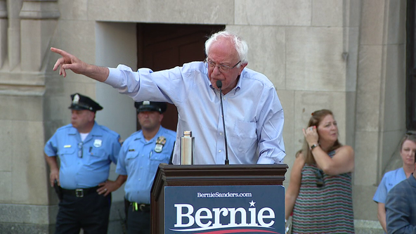 Hahnemann University Hospital's plight spurs aid pledge, Sanders rally