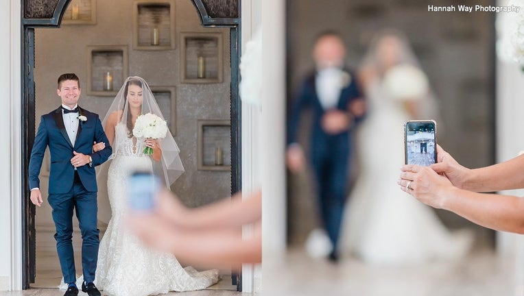 Texas wedding photographer asks guests to put phones away, in order to better enjoy weddings.