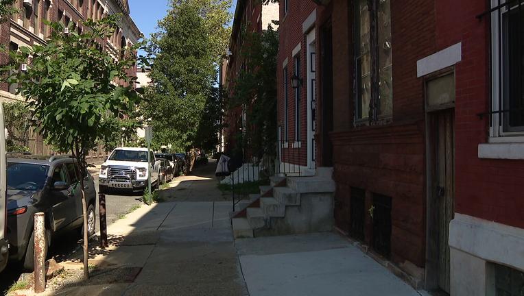 Police investigate Mount Vernon Street home invasion.