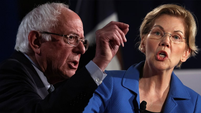 Bernie Sanders and Elizabeth Warren will square off at center stage during the first night of the second round of Democratic debates in Detroit.