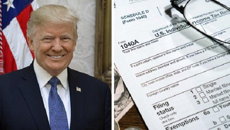 President Donald Trump's tax returns