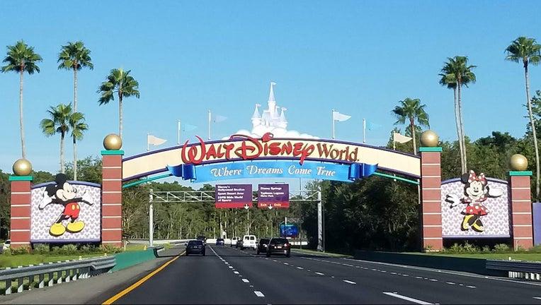 Walt Disney World entrance WTVT