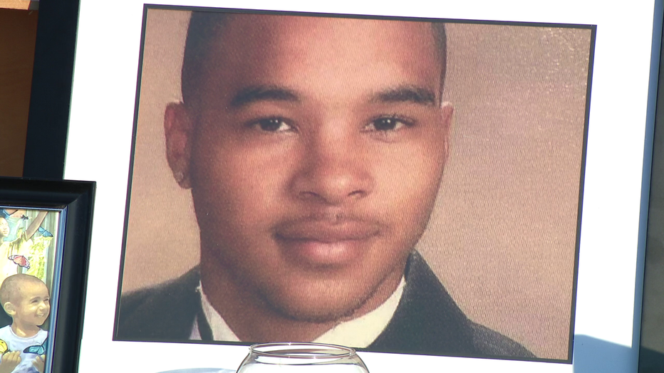 Family and friends pay tribute to Curtis Jenkins III.