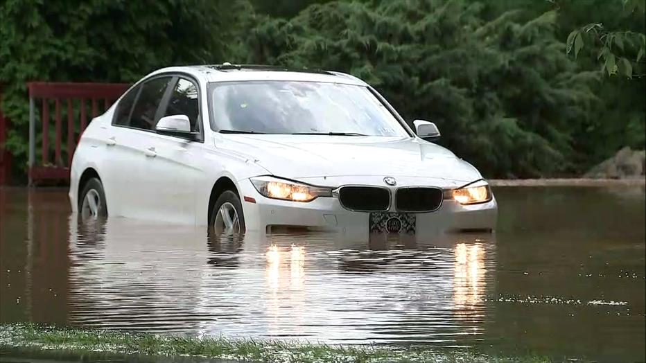 Buckingham Township flash flooding.