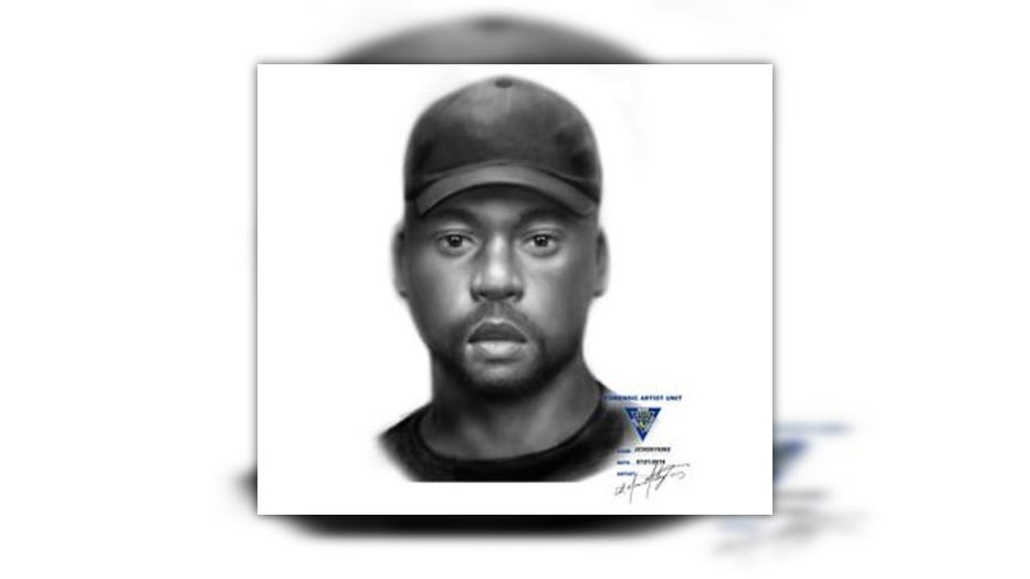 Sketch of man sought in Hamilton, N.J. attempted luring.