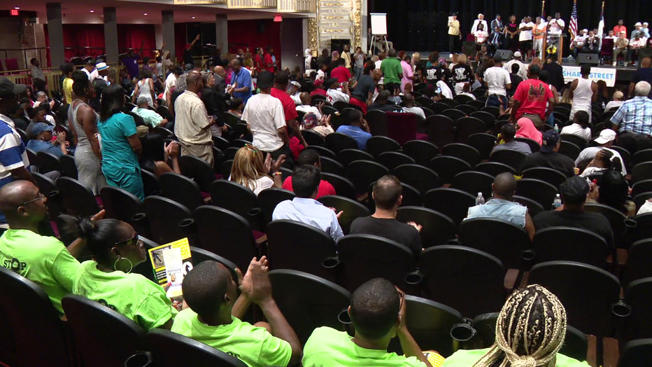A forum to stop gun violence held in North Philadelphia Sunday.